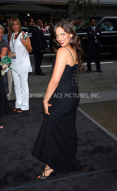 WWW.ACEPIXS.COM . . . . . ....NEW YORK, JULY 11, 2005....Noa Tishby arrives at Dreamworks premiere of the new movie 'The Island' at the Ziegfeld Theatre.....Please byline: KRISTIN CALLAHAN - ACE PICTURES.. . . . . . ..Ace Pictures, Inc:  ..Craig Ashby (212) 243-8787..e-mail: picturedesk@acepixs.com..web: http://www.acepixs.com