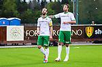 S&ouml;dert&auml;lje 2014-05-18 Fotboll Superettan Syrianska FC - Hammarby IF :  <br /> Hammarbys Kennedy Bakircioglu jublar efter sitt 4-2 m&aring;l  och tittar upp mot himlen n&auml;r han g&ouml;r m&aring;lgest<br /> (Foto: Kenta J&ouml;nsson) Nyckelord:  Syrianska SFC S&ouml;dert&auml;lje Fotbollsarena Hammarby HIF Bajen