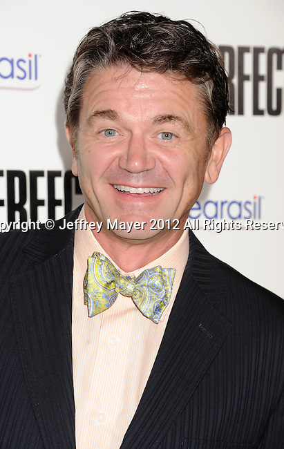 HOLLYWOOD, CA - SEPTEMBER 24: John Michael Higgins attends the 'Pitch Perfect' - Los Angeles Premiere at ArcLight Hollywood on September 24, 2012 in Hollywood, California.