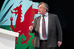 © Joel Goodman - 07973 332324 - all rights reserved . 06/03/2011 . Cardiff , UK . KENNETH CLARKE MP . Day 2 of the Conservative Party Spring Conference at the Swalec Stadium . Photo credit : Joel Goodman