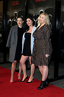 "LOS ANGELES - FEB 5:  Francesca Eastwood, Morgan Eastwood, Kathryn Eastwood at the ""The 15:17 To Paris"" World Premiere at the Warner Brothers Studio on February 5, 2018 in Burbank, CA"