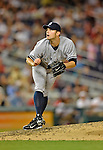 15 June 2012: New York Yankees pitcher David Robertson on the mound against the Washington Nationals at Nationals Park in Washington, DC. The Yankees defeated the Nationals 7-2 in the first game of their 3-game series. Mandatory Credit: Ed Wolfstein Photo