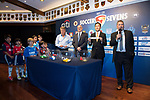 The draw of the tournament during the Press Conference of HKFC Citi Soccer Sevens 2017 on 11 April 2017 in Hong Kong Football Club, Hong Kong, China. Photo by Victor Fraile / Power Sport Images