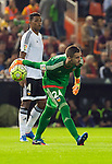 Valencia's Jaume Domenech  during La Liga match. October 17, 2015. (ALTERPHOTOS/Javier Comos)