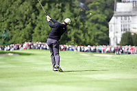 Padraig Harrington takes is 2nd shot on the 9th hole during the third round of the Irish Open on 19th of May 2007 at the Adare Manor Hotel & Golf Resort, Co. Limerick, Ireland. (Photo by Eoin Clarke/NEWSFILE)...