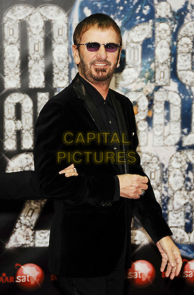 RINGO STARR .At the World Music Awards in Monte Carlo, Monaco, 9th November 2008..arrivals red carpet half length black suit sunglasses beard facial hair .CAP/TTL .©TTL/Capital Pictures