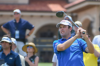 Robert Streb (USA) watches his tee shot on 1 during round 1 of The Players Championship, TPC Sawgrass, at Ponte Vedra, Florida, USA. 5/10/2018.<br /> Picture: Golffile | Ken Murray<br /> <br /> <br /> All photo usage must carry mandatory copyright credit (&copy; Golffile | Ken Murray)