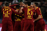 Stephan El Shaarawy of AS Roma celebrates with team mates after scoring the goal of 1-0 <br /> Roma 11-3-2019 Stadio Olimpico Football Serie A 2018/2019 AS Roma - Empoli<br /> Foto Andrea Staccioli / Insidefoto