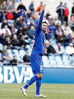 Getafe's Xavi Torres during La Liga match.December 15,2012. (ALTERPHOTOS/Acero) /NortePhoto