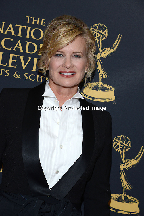 Mary Beth Evans attends the Creative Arts Emmy Awards on April 24, 2015 at the Universal l Hilton in Universal City,<br /> California, USA.