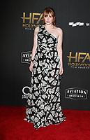 BEVERLY HILLS, CA - NOVEMBER 5: Bryce Dallas Howard, at The 21st Annual Hollywood Film Awards at the The Beverly Hilton Hotel in Beverly Hills, California on November 5, 2017. Credit: Faye Sadou/MediaPunch