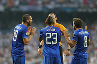 Juventus Vidal, Marchisio and Bonucci