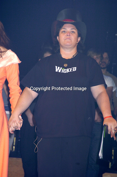 "Rosie O'Donnell ..at a performance of ""Pippin"" A Concert to Benefit The National Aids Fund and The Storm Theatre on November 29, 2004 at The Manhattan Center's Grand Ballroom...PHoto by Robin Platzer, Twin Images"