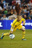 ..Troy Perkins goalkeeper Portland Timbers.. Sporting Kansas City defeated Portland Timbers 3-1 at LIVESTRONG Sporting Park, Kansas City, Kansas.
