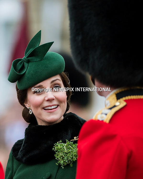Duke & Duchess Of Cambridge - St Patrick's Day Parade