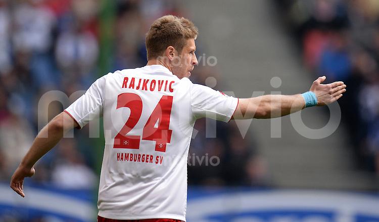 FUSSBALL   1. BUNDESLIGA   SAISON 2012/2013    32. SPIELTAG Hamburger SV - VfL Wolfsburg          05.05.2013 Slobodan Rajkovic (Hamburger SV)