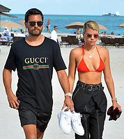 Scott Disick Sighted with Sofia Richie in Miami