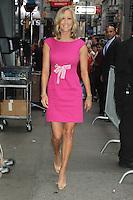 July 09, 2012 Lara Spencer arrives at Good Morning America studios in New York City. © RW/MediaPunch Inc.