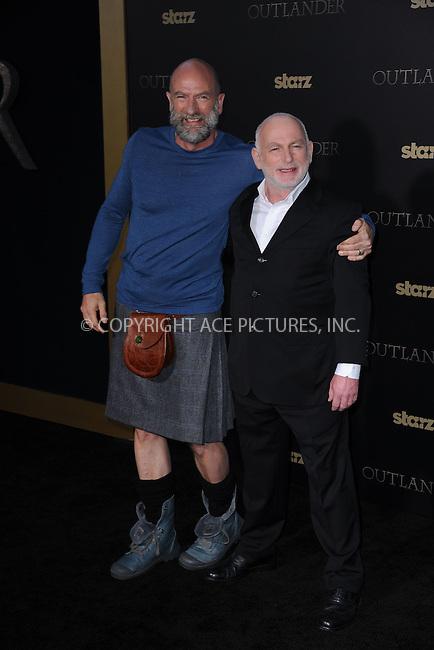 WWW.ACEPIXS.COM<br /> April 1, 2015 New York City<br /> <br /> Gary Lewis and Graham McTavish attending STARZ Original series &ldquo;Outlander&rdquo; celebration of &ldquo;Droughtlander&rdquo; at a special premiere screening of &ldquo;The Reckoning&rdquo; at The Ziegfeld Theater on  April 1, 2015 in New York City.<br /> <br /> Please byline: Kristin Callahan/AcePictures<br /> <br /> ACEPIXS.COM<br /> <br /> Tel: (646) 769 0430<br /> e-mail: info@acepixs.com<br /> web: http://www.acepixs.com