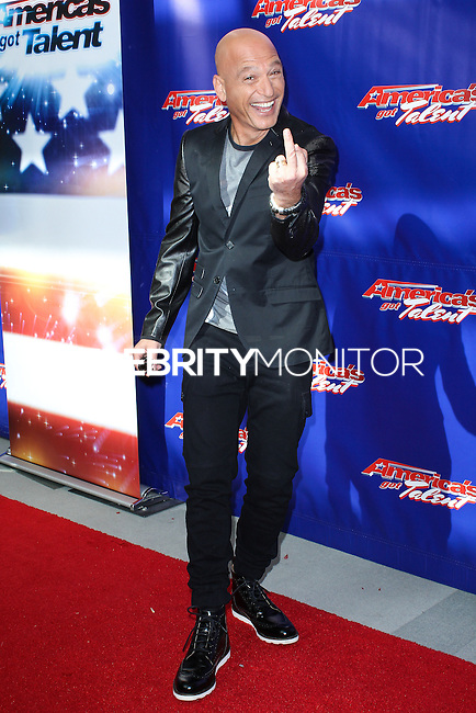 """NEWARK, NJ, USA - FEBRUARY 20: Howie Mandel at the """"America's Got Talent"""" Season 9 Photo Call held at the New Jersey Performing Arts Center on February 20, 2014 in Newark, New Jersey, United States. (Photo by Jeffery Duran/Celebrity Monitor)"""