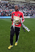 Pictured: Roland Lamah.<br /> Sunday 19 May 2013<br /> Re: Barclay's Premier League, Swansea City FC v Fulham at the Liberty Stadium, south Wales.