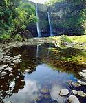 USA, Kauai, Hawaii.   Wailua Falls.