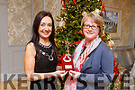 Helen O'Carroll, Curator of the Kerry County Museum is awarded the Kerry Heritage Award 2018 by Society President Marie O'Sullivan at the Kerry Archaeological and Historical Society's annaul lunch in the Rose Hotel on Sunday.