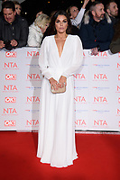 Faye Brookes at the National Television Awards 2018 at the O2 Arena, Greenwich, London, UK. <br /> 23 January  2018<br /> Picture: Steve Vas/Featureflash/SilverHub 0208 004 5359 sales@silverhubmedia.com