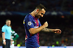 UEFA Champions League 2017/2018 - Matchday 6.<br /> FC Barcelona vs Sporting Clube de Portugal: 2-0.<br /> Paco Alcacer.