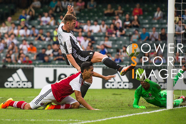 Juventus' player Lorenzo Rosseti in action during the South China vs Juventus match of the AET International Challenge Cup on 30 July 2016 at Hong Kong Stadium, in Hong Kong, China.  Photo by Marcio Machado / Power Sport Images