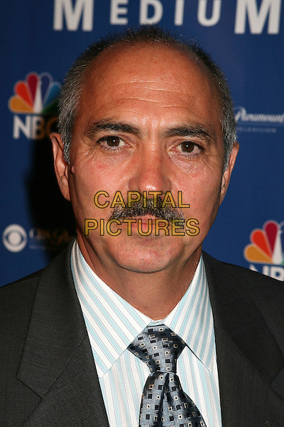 MIGUEL SANDOVAL.NBC Hosts ?Medium? Supernatural Soirée at Stephen Cohen Gallery, Los Angeles, California, USA..October 26th, 2006.Ref: ADM/BP.headshot portrait mustache facial hair.www.capitalpictures.com.sales@capitalpictures.com.©Byron Purvis/AdMedia/Capital Pictures.