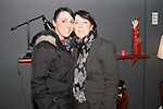 """Patricia and Louise Silk at the Lourdes Brass Band and St.Brigids Drama Group Performance of """"A Christmas Carol"""" in The Droichead Arts Centre...(Photo credit should read Jenny Matthews www.newsfile.ie)....This Picture has been sent you under the conditions enclosed by:.Newsfile Ltd..The Studio,.Millmount Abbey,.Drogheda,.Co Meath..Ireland..Tel: +353(0)41-9871240.Fax: +353(0)41-9871260.GSM: +353(0)86-2500958.email: pictures@newsfile.ie.www.newsfile.ie."""