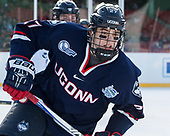 Maxim Letunov (UConn - 27) - The University of Maine Black Bears defeated the University of Connecticut Huskies 4-0 at Fenway Park on Saturday, January 14, 2017, in Boston, Massachusetts.
