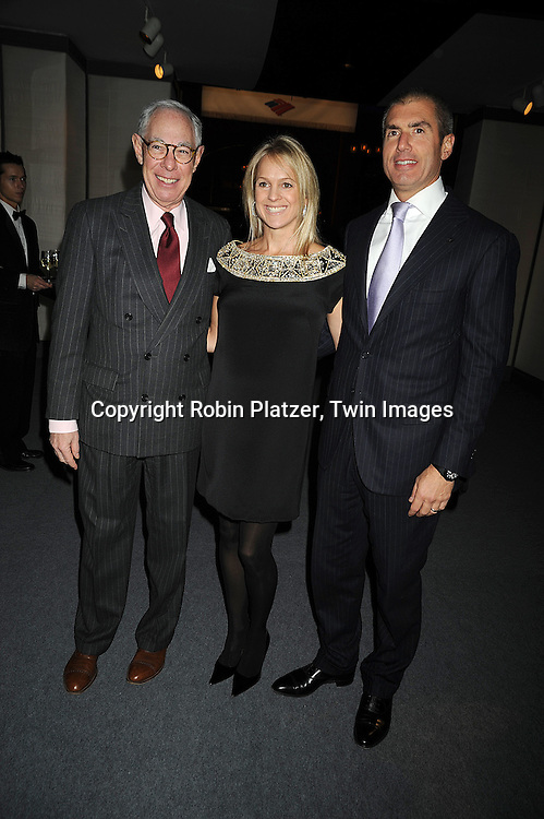 Arie Kopelman, Leslie and Brian Brille..at The 55th Annual Winter Antiques Show opening night on January 22, 2009 at The Park Avenue Armory at 67th Street and Park Avenue in New York City. ....Robin Platzer, Twin Images