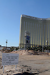 SkyVue has started the real groundbreaking for the 500 foot Double Observation wheel being built across from the Manadaly Bay <br /> The Skyvue Las Vegas Super Wheel will open in 2013 as part of a $100 million privately funded project