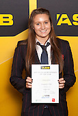 Girls Water Polo winner Chelsea Geary from Rangitoto College. ASB College Sport Young Sportsperson of the Year Awards held at Eden Park, Auckland, on November 24th 2011.
