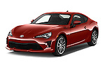 2017 Toyota 86 Automatic 2 Door Coupe Angular Front stock photos of front three quarter view