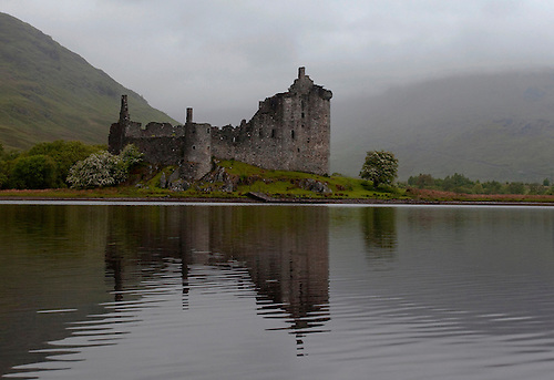 Kilchurn Castle is a 15th century castle ruin on the northeastern end of Loch Awe, Scotland. It was the ancestral home of the Campbells.