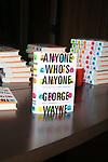 Vanity Fair's George Wayne Book Launch Event