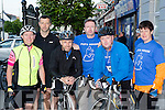 Francie Brosnan, Padraig O'Connor, Niall Courtney, Tom McCarthy and Siobhain O'Sullivan who particiapated in the Castleisland The Longest Day challenge on Saturday
