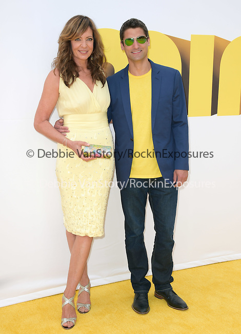 Allison Janney attends Universal Pictures L.A. Premiere of Minions held at The Shrine Auditorium  in Los Angeles, California on June 27,2015                                                                               © 2015 Hollywood Press Agency
