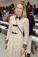 Alice Naylor Leyland<br /> at the Barbara Casasola catwalk show as part of London Fashion Week SS17, Brewer Street Carpark, Soho London<br /> <br /> <br /> ©Ash Knotek  D3155  16/09/2016