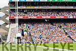 Paul Geaney Scores Kerry's Second goal against Dublin in the All Ireland Senior Football Semi Final at Croke Park on Sunday.