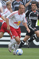 New York Red Bulls forward Clint Mathis (13) looks to make a pass. DC United defeated the New York Red Bulls, 4-2, at RFK Stadium in Washington DC, Sunday, June 10 , 2007.