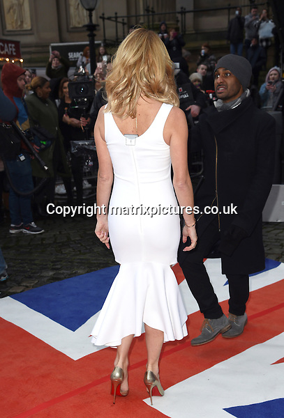NON EXCLUSIVE PICTURE: MATRIXPICTURES.CO.UK<br /> PLEASE CREDIT ALL USES<br /> <br /> WORLD RIGHTS <br /> <br /> British actress and television presenter Amanda Holden attending the Britain's Got Talent Liverpool auditions, at Liverpool Empire Theatre, in Merseyside.<br /> <br /> The 44-year-old looks glamorous wearing a white dress. <br /> <br /> JANUARY 15th 2016<br /> <br /> REF: FLW 16114