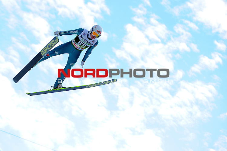 Innsbruck, Austria 03.01.2014 <br /> 2013-14 Vierschanzentournee, <br /> FIS Ski Jumping World Cup <br /> Marinus Kraus of Germany in action during the FIS Ski Jumping World Cup Vierschanzentournee on January 3, 2014 in Innsbruck, Austria.<br /> <br /> Foto &not;&copy; nph / Pier Paolo Piciucco