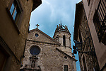 The church of Santa Maria de Moià, Catalonia