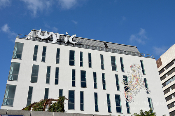 The Lyric Theatre in Hammersmith, London, UK.