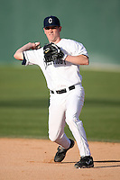 February 21, 2009:  Second baseman Tim Martin (1) of the University of Connecticut during the Big East-Big Ten Challenge at Jack Russell Stadium in Clearwater, FL.  Photo by:  Mike Janes/Four Seam Images
