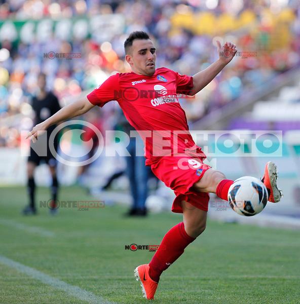 Real Valladolid V Getafe Adrian Colunga match during La Liga 2012-13. April 13, 2013 (Victor J Blanco/Alterphotos)